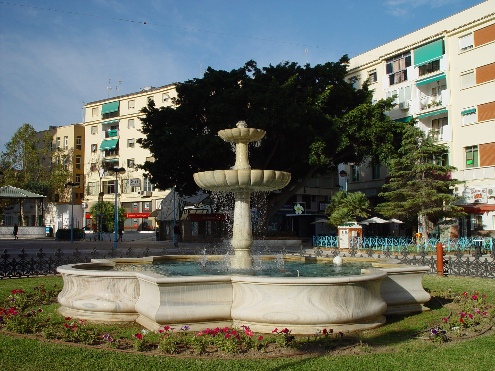 FOUNTAIN IN TORREMOLINOS